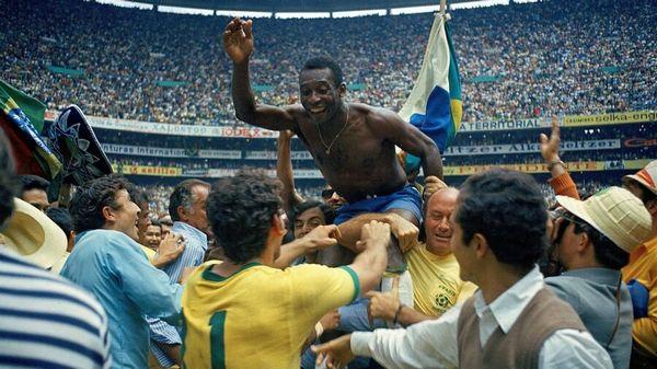 Pelé Brésil 1970 Coupe du Monde