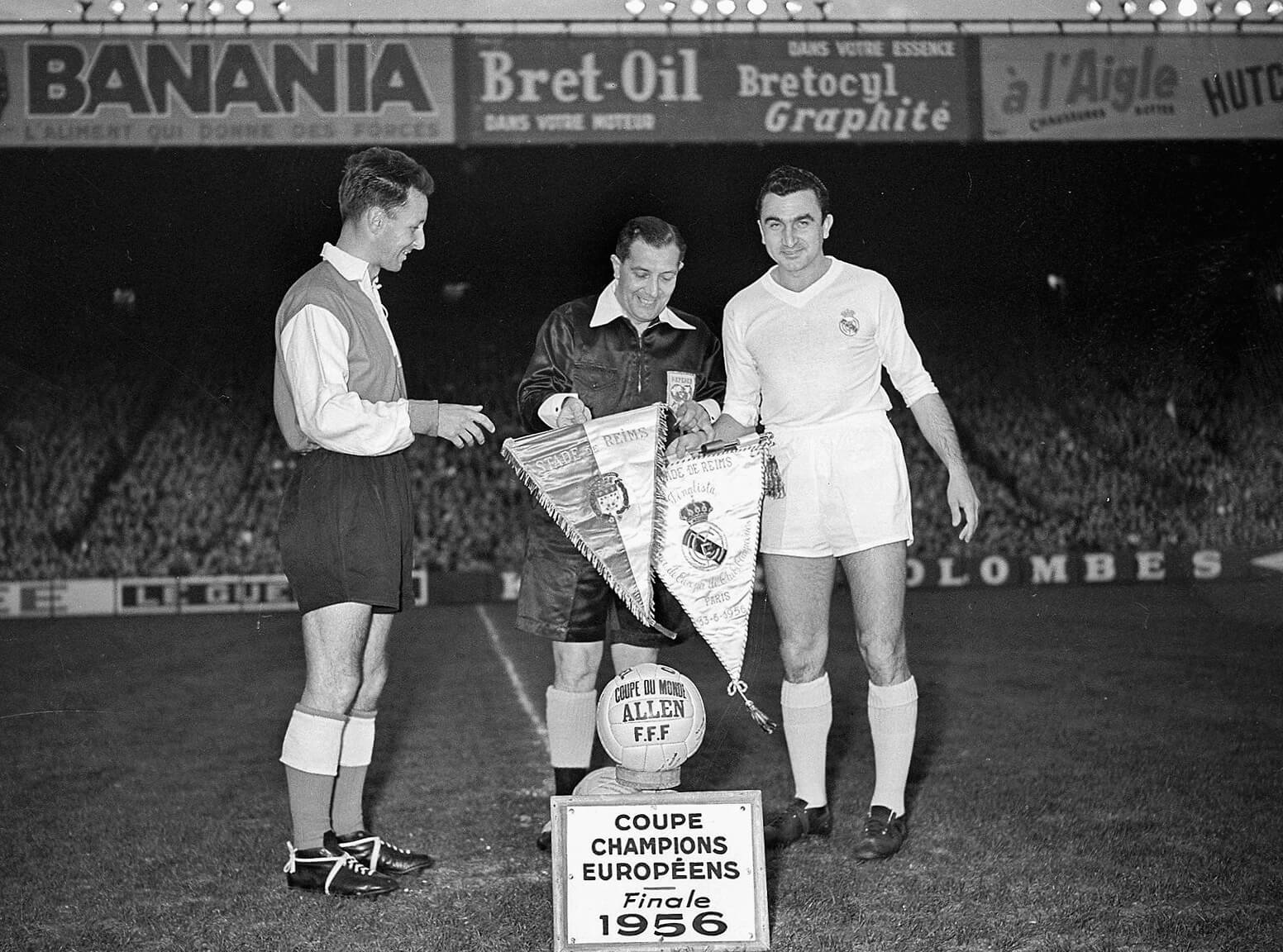 Stade Reims Real Madrid 1956 Champions League