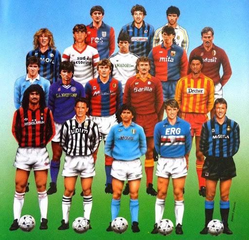 Serie A annes 80