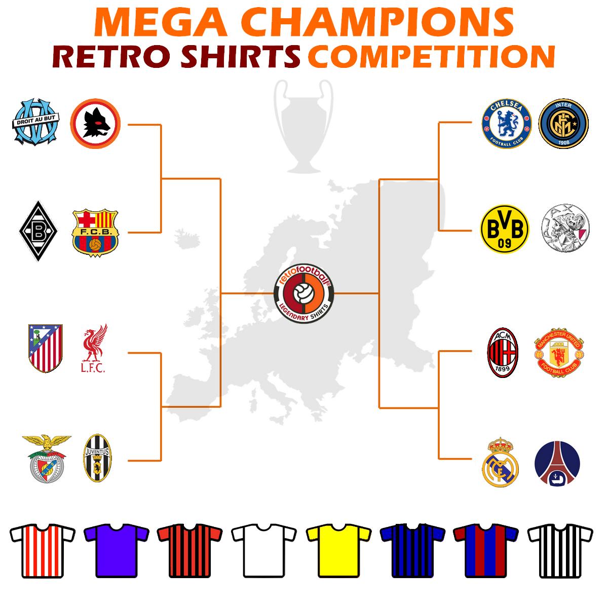 Mega Champions League 2020: choisissez le meilleur maillot de football vintage de l'histoire de la Ligue des Champions