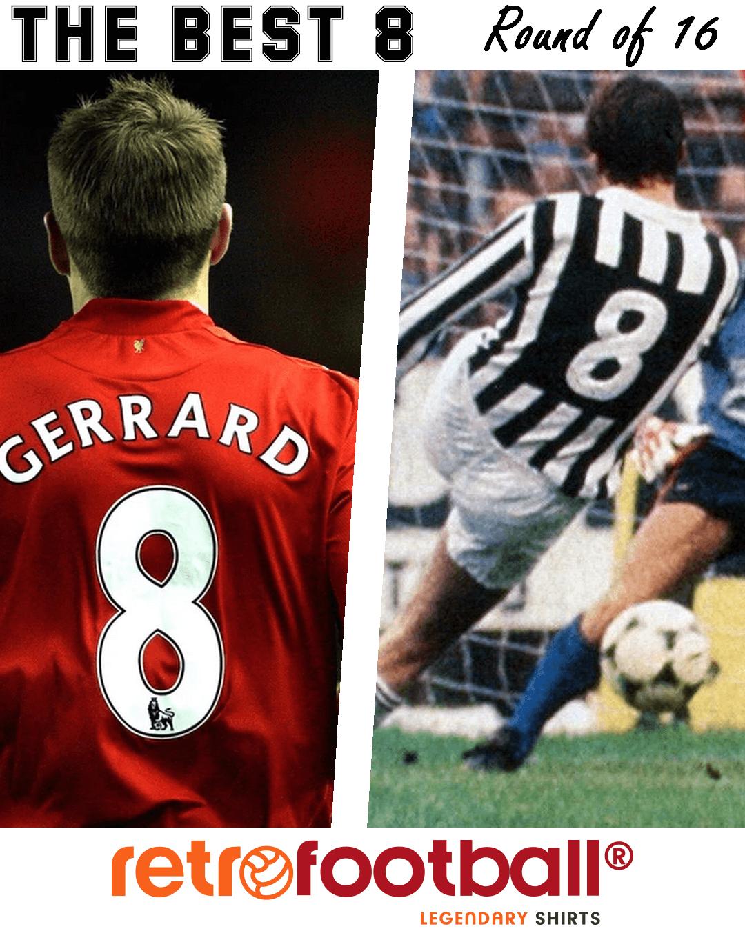 Le meilleur numéro 8 du football : Gerrard vs Tardelli