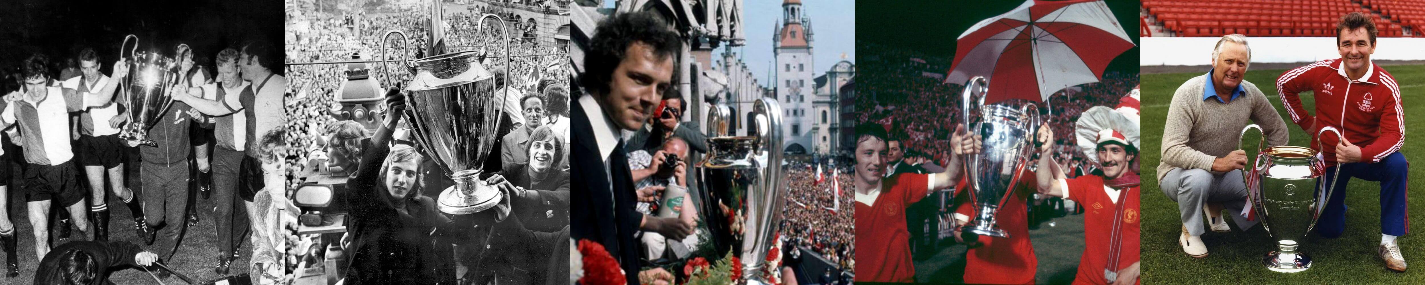 Champions League winners 1970s
